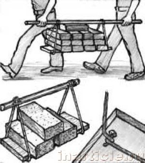 Как сделать носилки своими руками 124